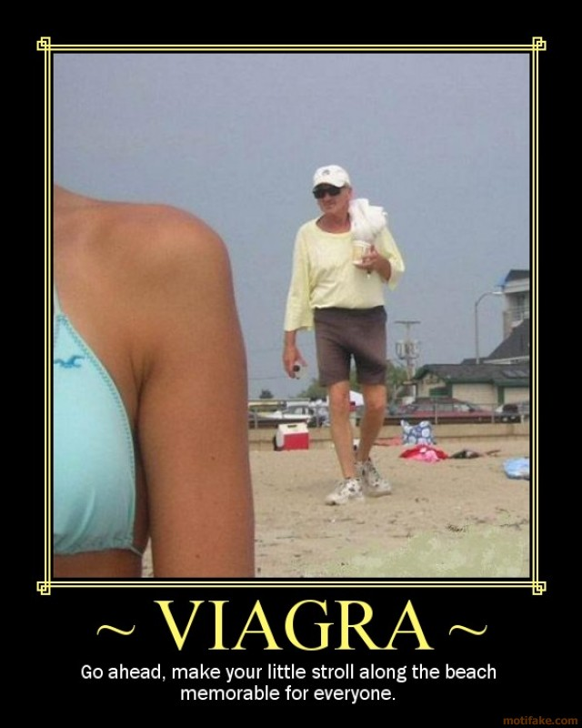 Viagra: Rub A Mole, It Turns Into A Cancerous Suitcase